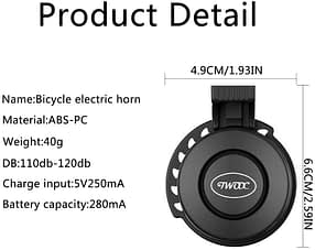 electric scooter accessories -e- scooter horn