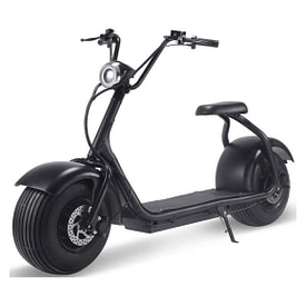 Mototec Fat Tire Electric Scooters With Seat - Fat Tire 2000 W Lithium scooter