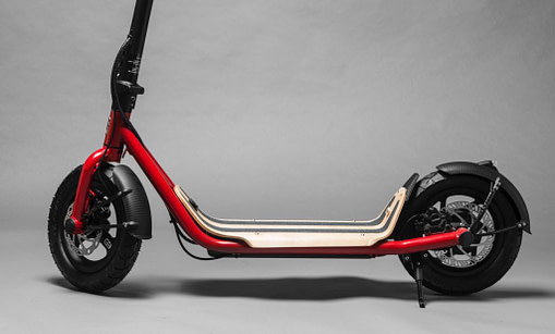 8TEV B12 Waterproof Electric Scooter for UK weather