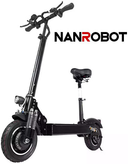 Nanrobot D4+ Powerful Electric Scooter - seat