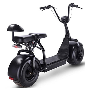 Mototec Fat Tire Electric Scooters With Seat - Knockout 48 V 1000W electric scooter