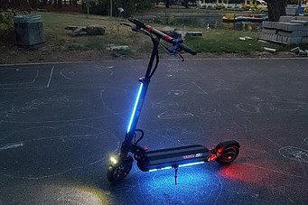 the ZERO 9 electric scooter reviews