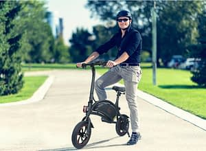 KUGOO-B1-Folding-electric scooter with seat for UK market