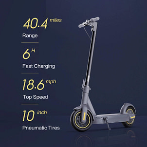 The Segway Ninebot MAX Electric Kick Scooter - The most reliable electric scooter