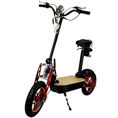 Zipper Seated Electric Scooters For Adults - 1000 watt