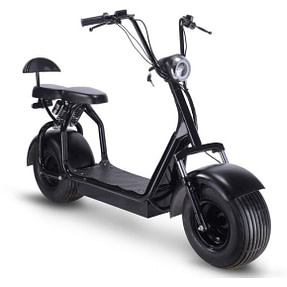 Mototec Fat Tire Electric Scooters With Seat - Knockout 48 V 1000W scooter