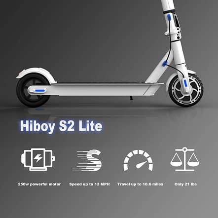 Hiboy S2 Lite - best electric scooter for kids and teens