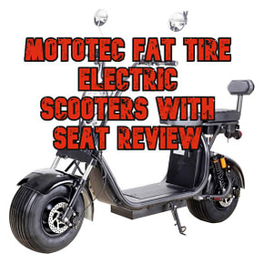 Mototec Fat Tire Electric Scooters With Seat