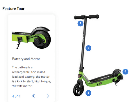 Black Lable E90 - razor scooter for 8 year old 1