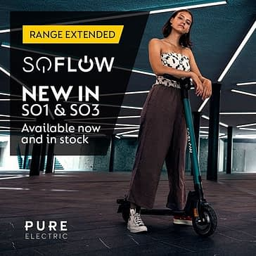 SoFlow SO3 - Buy Cheap Electric Scooter for UK Market