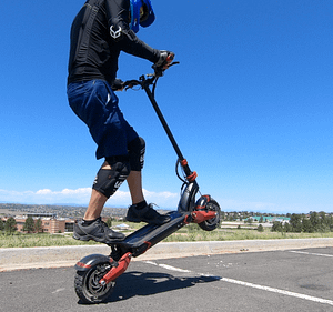 Turbowheel Lightning+ - Weight limit for an electric scooter