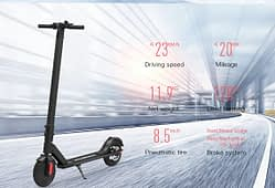 MegaWheels S5 -  Electric Scooter Review