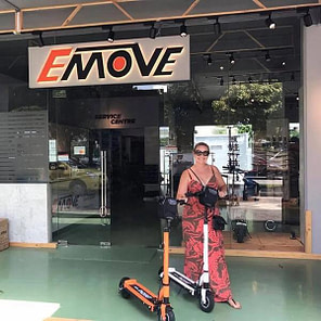 Emove Touring - best electric scooter for NYC