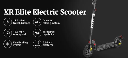 GOTRAX XR Elite - Best commuting electric scooter under $500