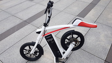 Stigo B1 Foldable Electric Scooter with Seat for Adults