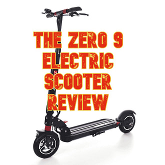 The ZERO 9 Electric Scooter