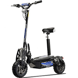 Off road electric scooter with seat - UBERSCOOT 1600W 48V ELECTRIC SCOOTER