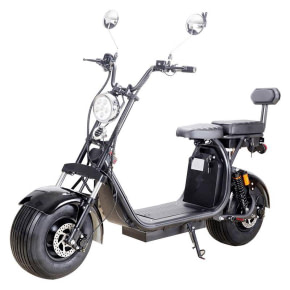 Mototec Fat Tire Electric Scooters With Seat - 2000W lithium