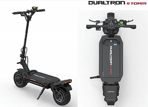 DUALTRON STORM ELECTRIC SCOOTER FOR A HEAVY RIDER