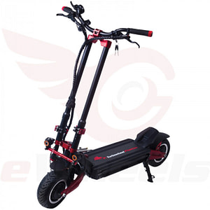 The Turbowheel Phaeton Electric Scooter for a Heavy Rider