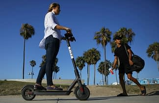 Eco-Friendly electric scooters