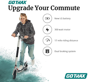 GOTRAX XR Ultra - best electric scooter for college students