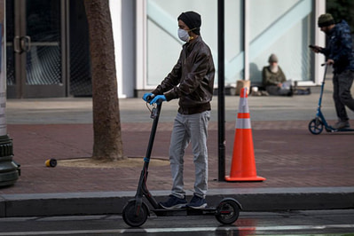 electric scooter pandemic 2021