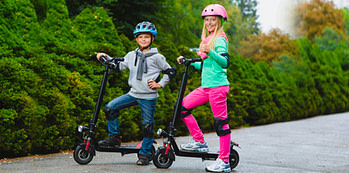 electric kick scooters for kids