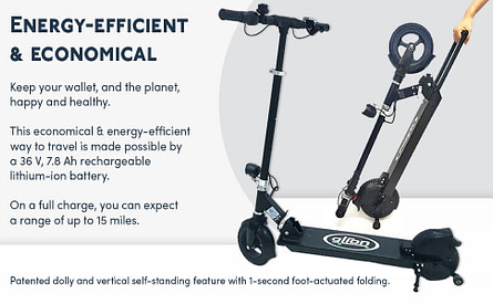 Glion Dolly 225 Foldable Electric Scooter