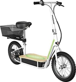 Razor EcoSmart Metro Electric Scooter - electric scooter with seat for adults