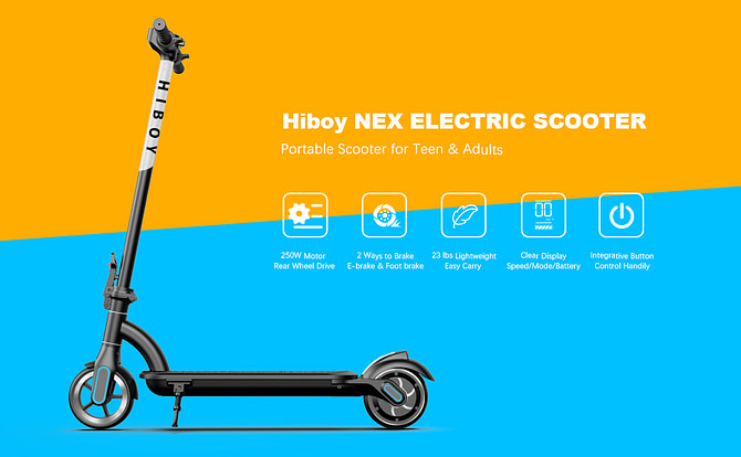 Hiboy NEX Electric Riding Scooter for Kids