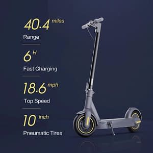 Review of The Segway Ninebot MAX Electric Kick Scooter
