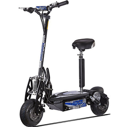 Off road electric scooters with seat - UBERSCOOT 1000W ELECTRIC SCOOTER
