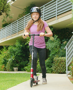 electric scooter for girls - Razor Power A2 Electric Scooter