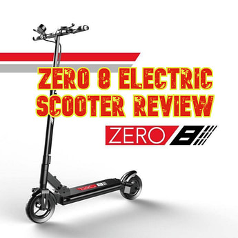 ZERO 8 Electric Scooter Review