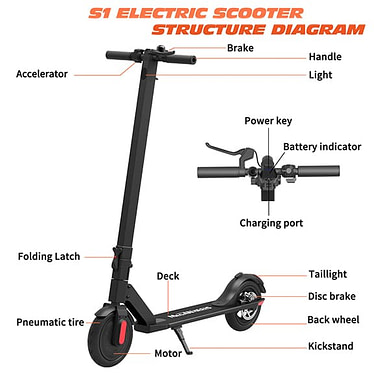 The MegaWheels S5 Electric Scooter Review