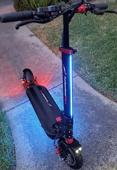 Turbowheel Dart Foldable Electric Scooter with Seat for Adults