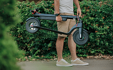 $500 Electric Scooter with Portable Battery - Turboant X7 Pro