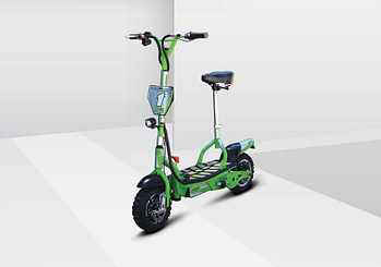 UBERSCOOT ES07 SX1200W 48V - Off Raod electric scooter with seat