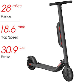 Ninebot ES4 - best e-scooter for commuting to work