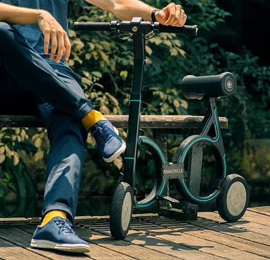 Smacircle S1 Foldable Electric Scooter with Seat for Adults