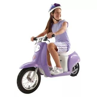 Razor Pocket Kids Electric Scooter with Seat