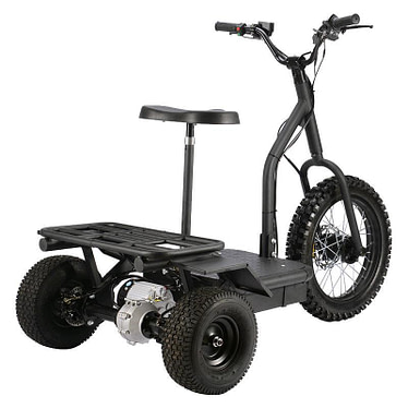 Mototec 48v 1200w Electric Trike Scooter for Adults