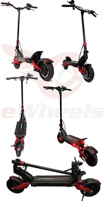 High Speed Electric Scooter for Adults -Turbowheel Lightning+