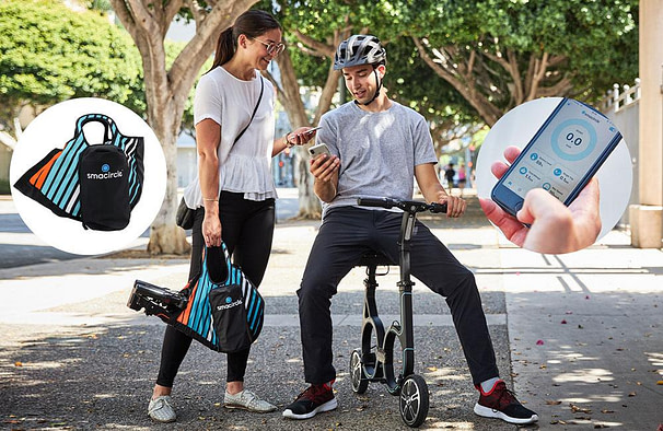 Smacircle S1 - Compact electric scooter with seat