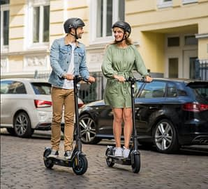 Best Electric Scooter for New York City: Ninebot KickScooter MAX G30
