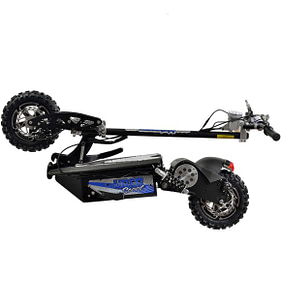 Off road electric scooters with seat - UBERSCOOT 1600W 48V ELECTRIC SCOOTER